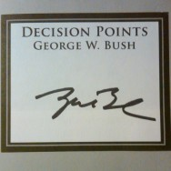 George W.'s Autograph