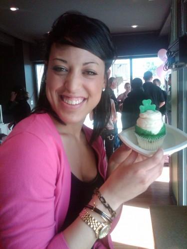 Jessica & her Cupcake