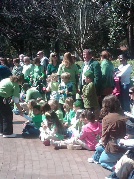 Little Children at the Greening