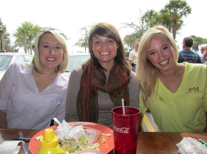 Becca, Sarah, and Marla