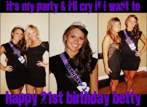 Bet's Birthday Collage