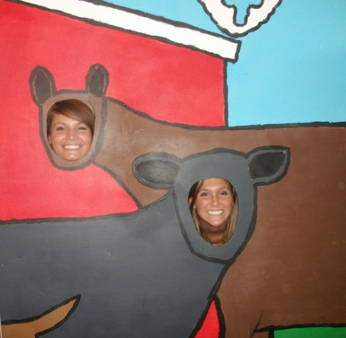 Sarah & Me at the Perry Fair