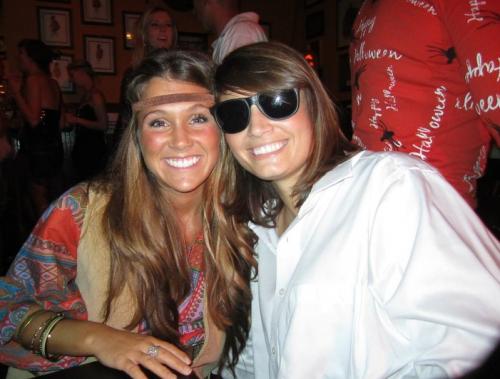 Sarah & Me on Halloween
