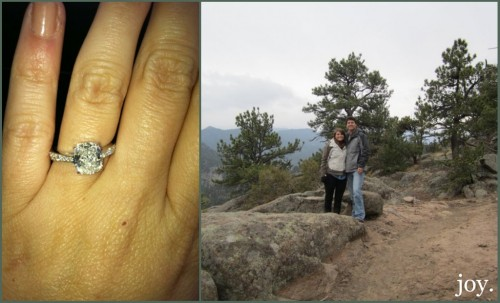 Sarah is Engaged