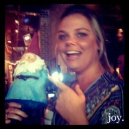 Liz and the Gnome.