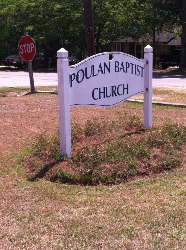 Poulan Baptist Church