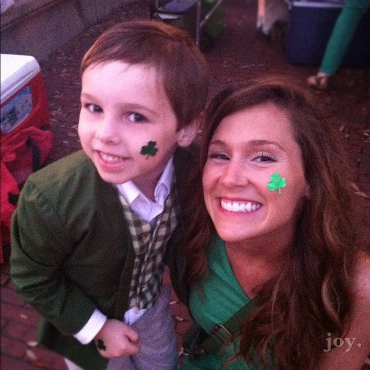 little green leprechaun