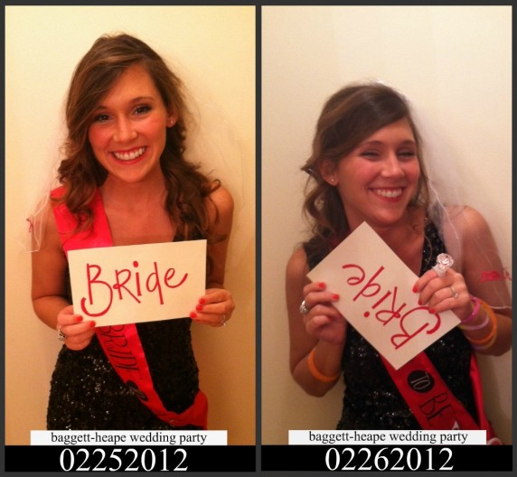 Bride Mugshot